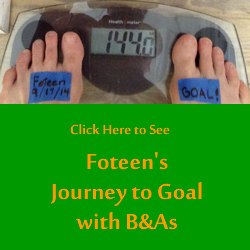 Foteens Raw Food Diet Goal Journey with Before and Afters