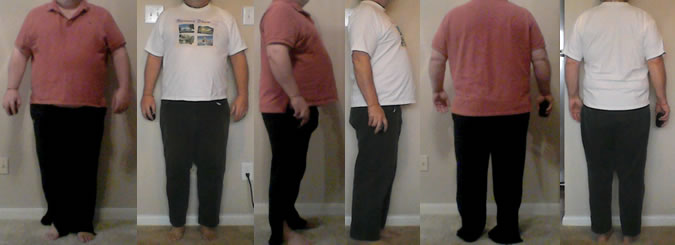 Lagarto's 75 lbs Gone Before and Afters