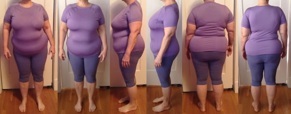 Foteen Raw Food Diet Before and After