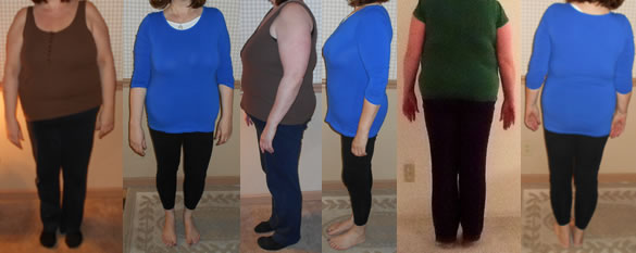 JanBree 50 lbs Gone Raw Food Diet Before and After