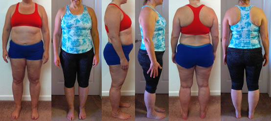 SuperHarman Raw Food Diet Before and Afters