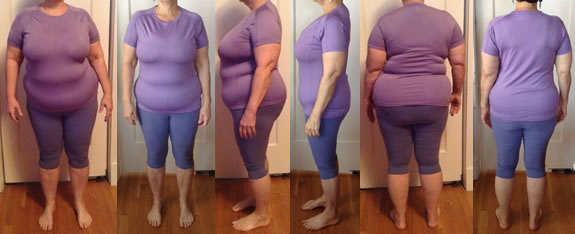 Foteen 50 lbs Gone Raw Food Diet Before and Afters