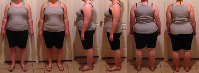 Jenna 25 lb Gone Raw Food Diet Before and Afters