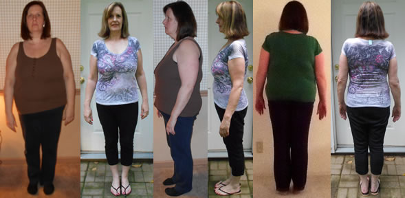 JanBree 60 lbs Gone Raw Food Diet Before and Afters
