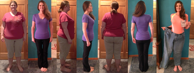 Michelle Wins 100 lbs in 7 Month Challege