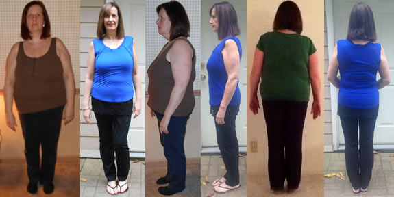 JanBrees 70 lb Gone Fast Weight loss with Raw Food Before and Afters