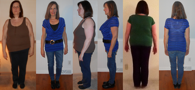 JanBrees 80 lbs gone raw food diet before and afters
