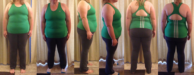 CJaneRun 25 lbs gone before and afters