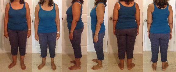 IslandGirls 25 lbs gone with a raw food diet before and afters