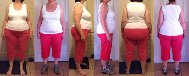 Jenna's 25 lbs Gone Before and Afters