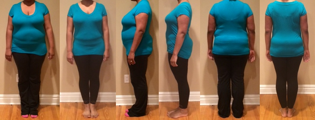 Erica Wins 50 lbs in 12 Weeks Challenge
