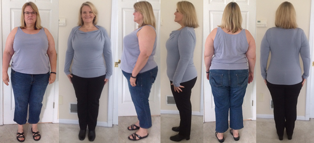 KaCastro's 70 lbs gone with a raw food diet before and afters