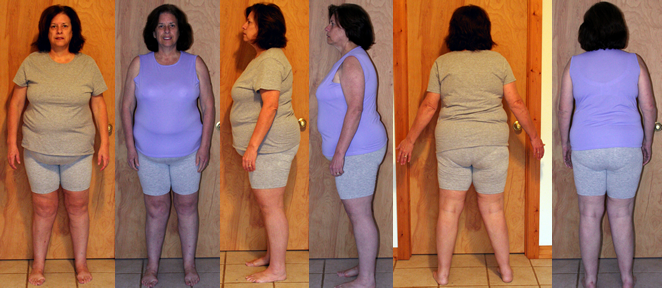 Cathys 25 lbs Gone with a Raw Food Diet Before and Afters