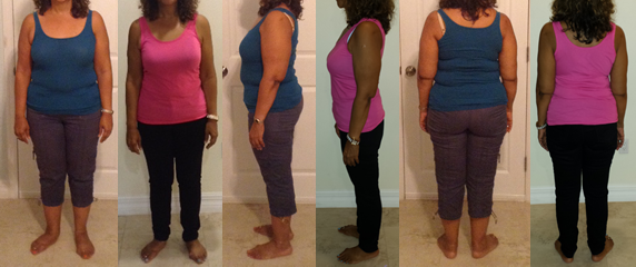 IslandGirl's 35 lbs Gone Before and Afters