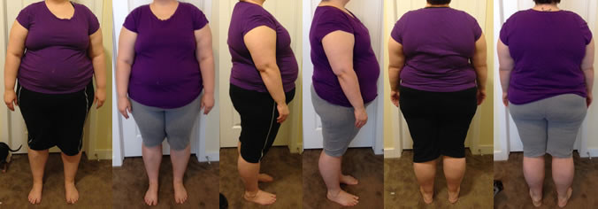 SlashGirl's First 25 lbs Gone Before and Afters