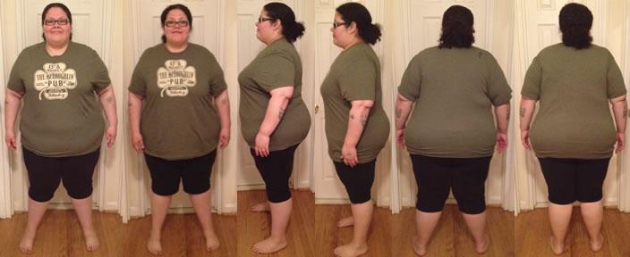 VforLove's 40 lbs in 8 Weeks Before & Afters