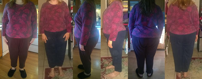 Menza's 25 lb Gone Before and Afters