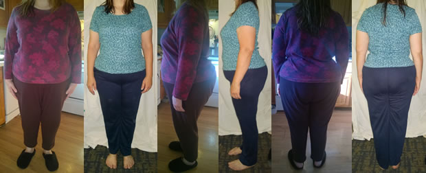 Menza 35 lbs Gone Before and Afters