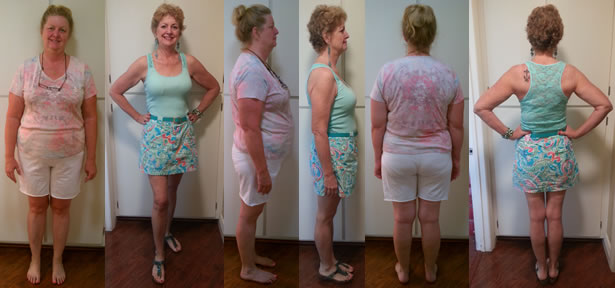Otavia Anniversary Raw Food Diet Before and Afters