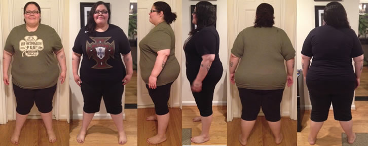 VforLove's 60 lbs Gone Before and Afters