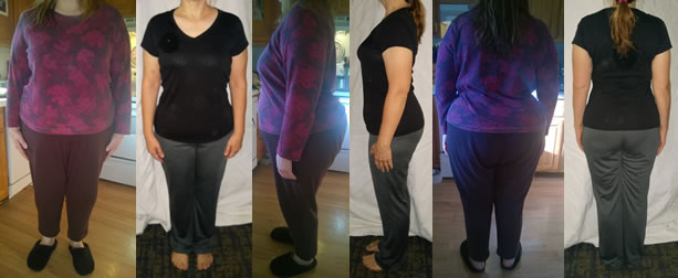 Menza fast weight loss before and afters with 10 lb comparision