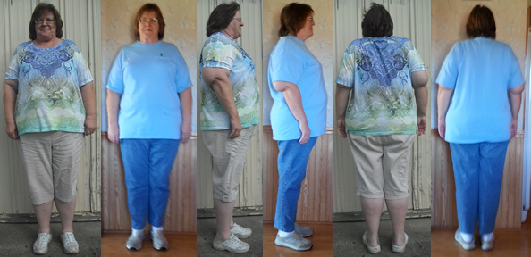 Polly Hits 25 lbs Gone her First 4 Weeks
