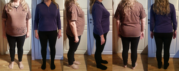 Lilli's 25 lbs Gone Before and Afters