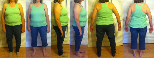 CanDo 25 lbs gone with a fast weight loss raw food diet before and afters