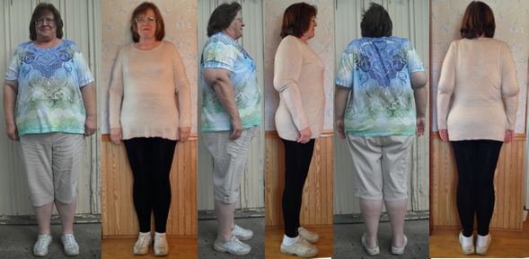 Polly's Fast Weight Loss with a Raw Food Diet Journey Page